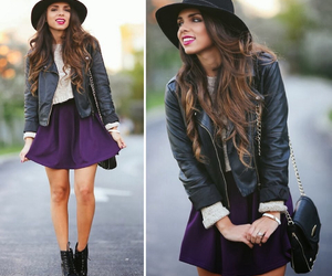 fashion, boots, and hat image