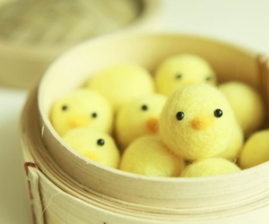 cute, Chick, and easter image