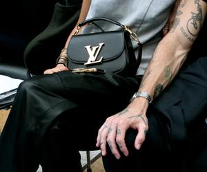 fashion, model, and tattoo image