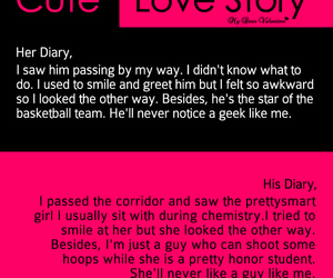 love, cute, and story image