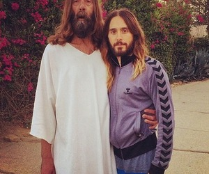 jared leto, jesus, and 30 seconds to mars image