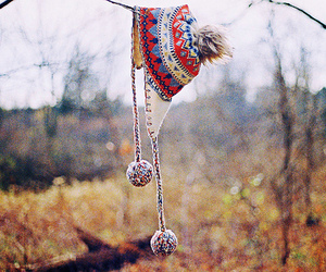 hat, autumn, and photography image