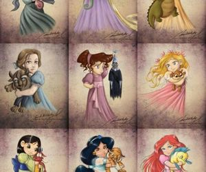 disney and girls image