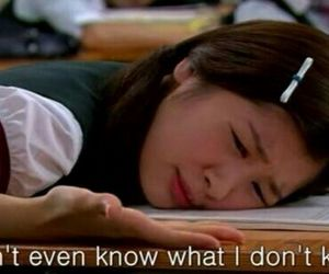school, quotes, and playful kiss image