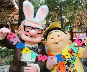 up, disney, and easter image