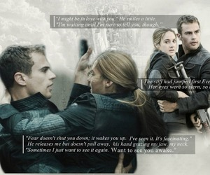 four, sheo, and divergent image