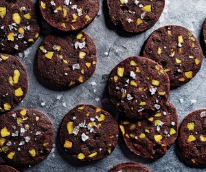 chocolate, nuts, and Cookies image