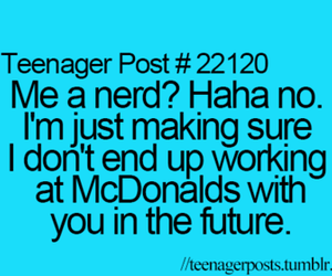 nerd and quote image
