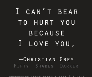 I Love You, porn, and christian grey image