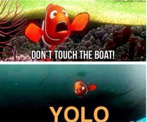 yolo, nemo, and funny image