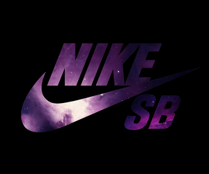 nike, galaxy, and Logo image