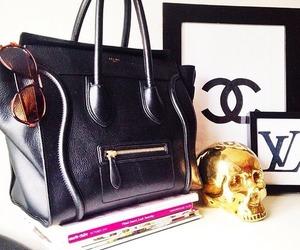 bag, celine, and chanel image