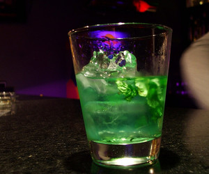 green, drink, and drunk image