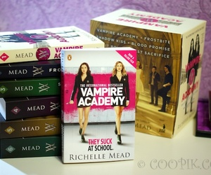 book, young adult, and vampire academy image