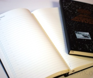 diary, journal, and moleskine image