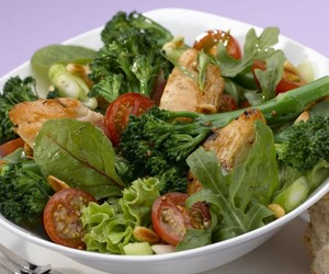 broccoli, Chicken, and healthy image