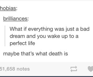 bad, death, and Dream image