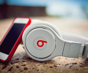 beats, music, and iphone image