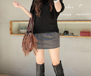 asian, asian fashion, and boots image