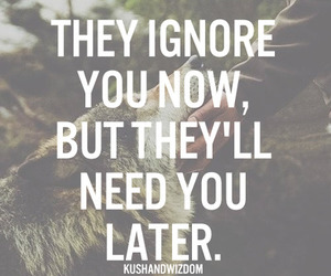 ignore, need, and quote image
