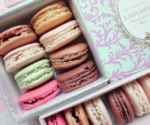 colors, macarons, and delicious image