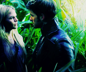 couples, once upon a time, and captain hook image