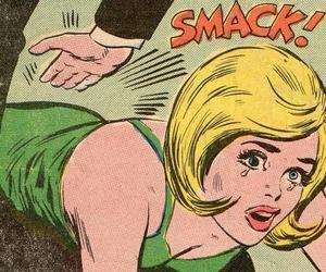 Smack, comic, and pop art image