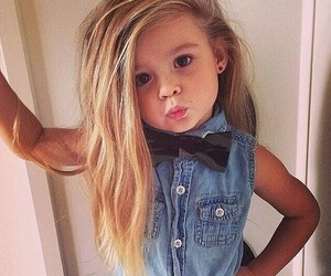 baby, blonde, and hair style image