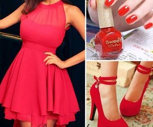 red and fashion image