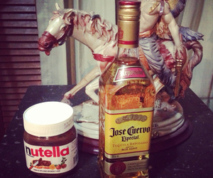 gift, nutella, and creppes image