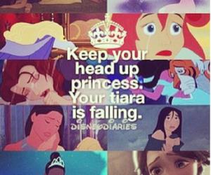 princess, disney, and tiara image