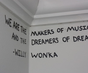 Dream, Willy Wonka, and music image