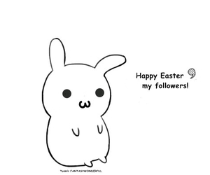 easter, happy easter, and followers image