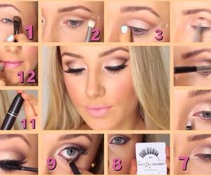 fashion, girl, and tutorial makeup image
