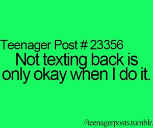 teenager post, text, and texting image