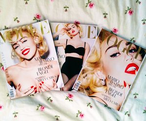 miley cyrus, vogue, and miley image