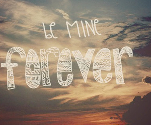 forever, love, and mine image
