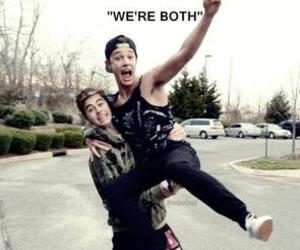 cameron dallas, nash grier, and brothers image