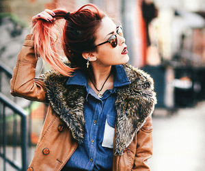 girl, fashion, and luanna image