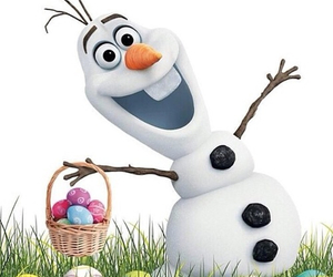 olaf, frozen, and easter image