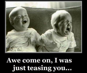 babies, faces, and funny image