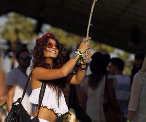 vanessa hudgens, coachella, and summer image