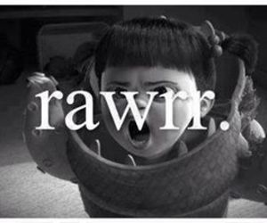 boo, rawr, and disney image