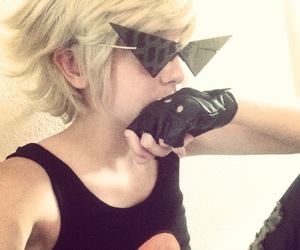 cosplay, homestuck, and dirk strider image