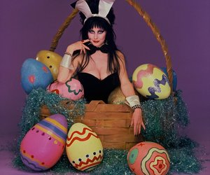 bunny, easter, and elvira image