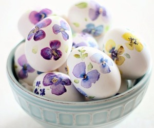 eggs, easter, and spring image