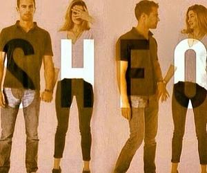 Shailene Woodley, sheo, and theo james image