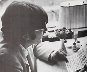 john lennon, photography, and the beatles image