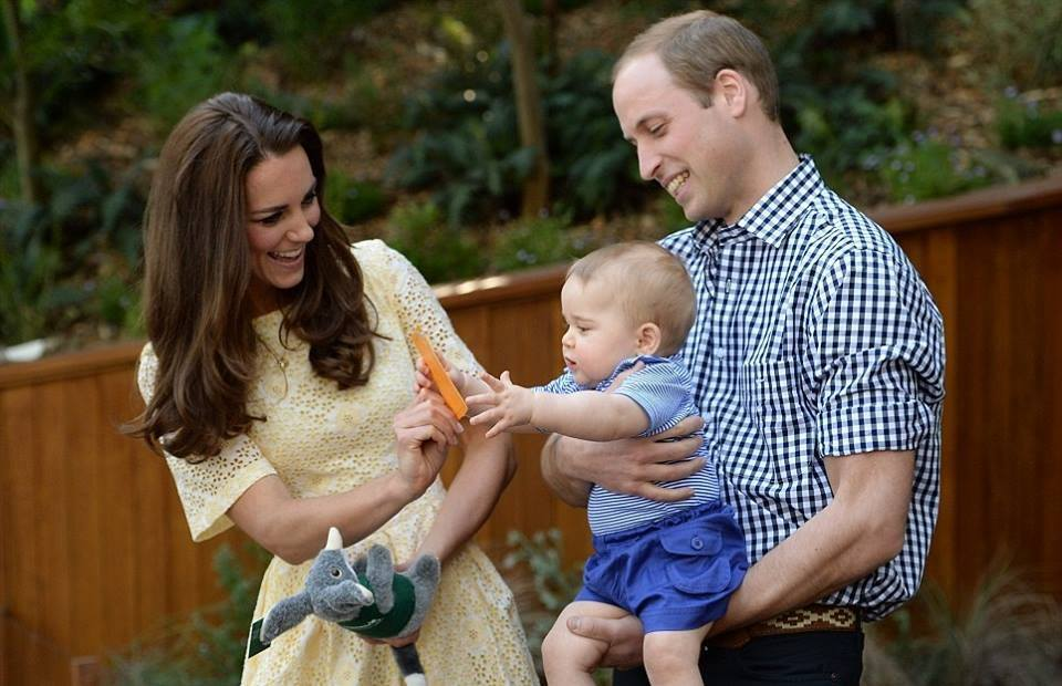 family, kate middleton, and prince william image