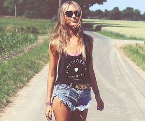 fashion, summer, and blonde image